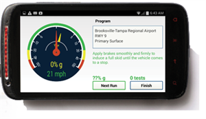 Picture of NAC-Dynamic Friction Decelerometer® Mobile App for Android™