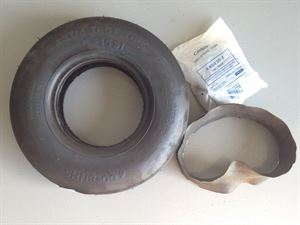 Picture of Friction Tire E1551 4.00-8.6 with Rubber Tube & Flap