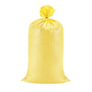 "Picture of 14"" x 26"" YELLOW Vinyl Sand Bags"