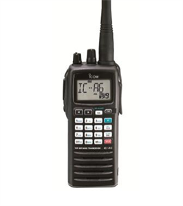 Picture of IC-A6/LI+ Handheld Aviation Radio